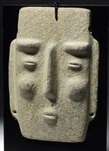 Elegant Chontal Stone Maskette