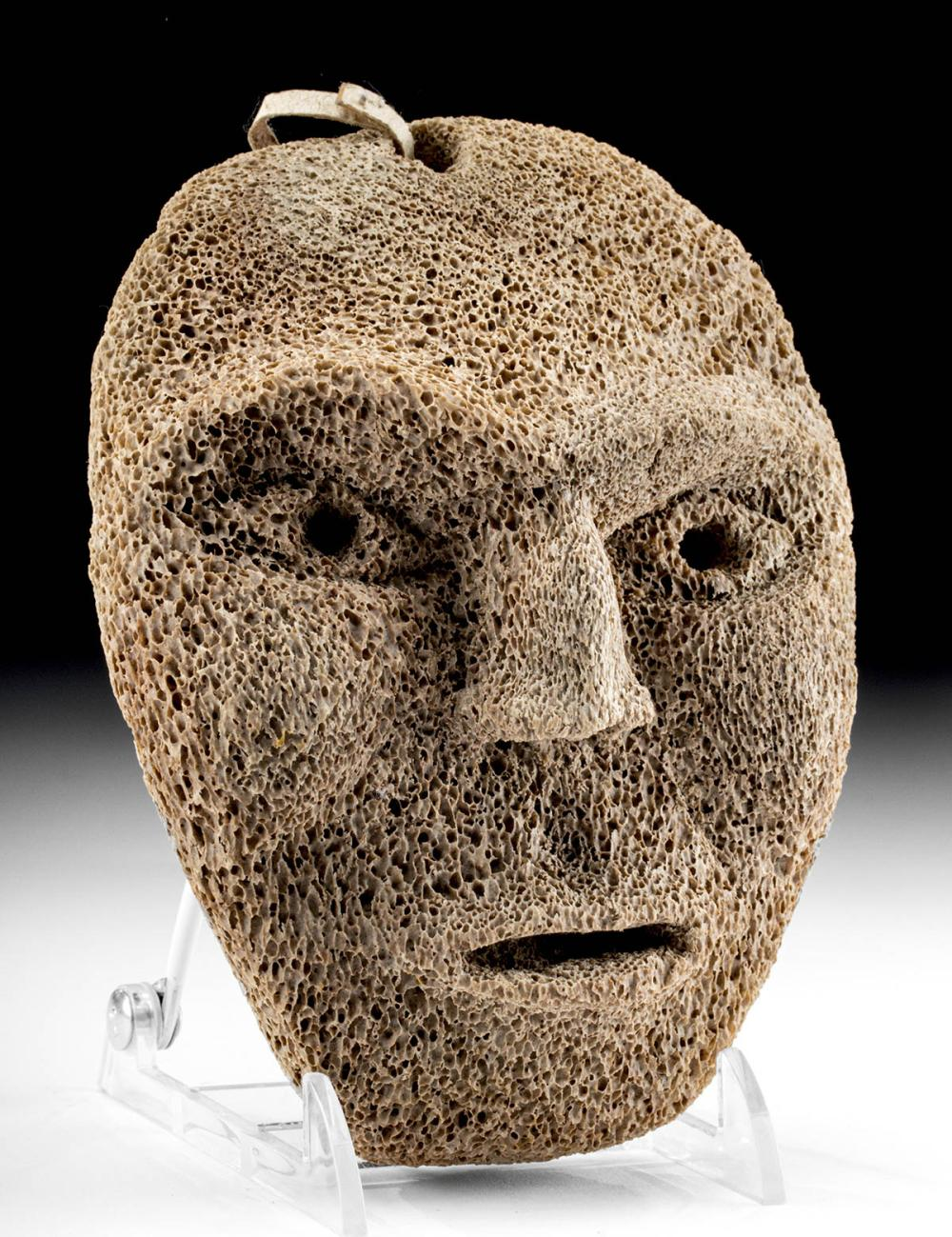 Inuit Bone Mask Ca 1940s