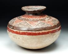 West Mexican Post Classic Polychrome Jar