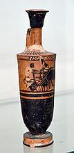 Greek Attic Lekythos - Charioteer / Quadriga