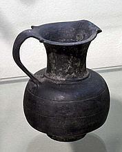 Etruscan Bucchero Oinochoe, ex-Bonham's