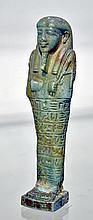 Egyptian Faience Ushabti for Oudja-Hor