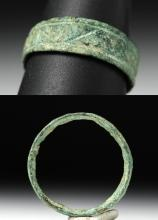 Ancient Roman Bronze Ring - US Size 9