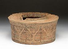Huge Indus Valley Pottery Pyxis