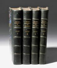 Oeuvres Philosophiques de Descartes - 4 Vols, 1834 / 35