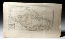 Two French Maps - Ca. 1802 - South America & Caribbean