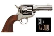 Cimarron Revolver: Single Action Frontier Series 45LC Caliber Single Action 6 Stainless Steel Finish