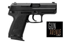 Heckler & Koch Pistol: Semi-Auto USP Compact Series 40SW Caliber Double Action 10+1 Black/ Nitro-Carburized Finish Finish