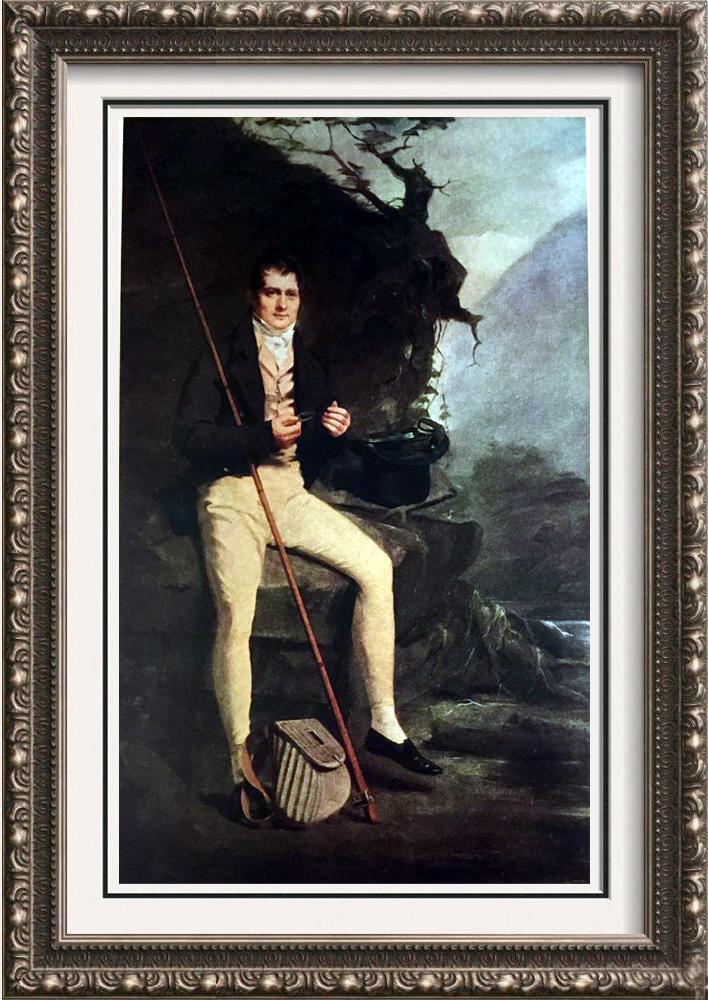 Masterpieces of British Painting by  Henry Raeburn: Lt-Col Bryce McMurdo c.1800-1823 Fine Art Print