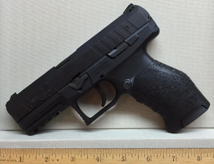 Walther PPX Semi Automatic Pistol 9 mm