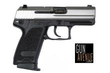 Heckler & Koch Pistol: Semi-Auto USP Series 45AP Caliber Double Action 8+1 Stainless Steel Finish