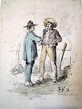 Horace Vernet watercolor