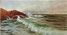 Seascape on Coast