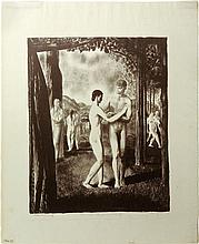 The Lovers that Passed Him By- George Bellows