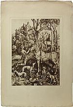 Original Old Master Woodcut by Albrecht Durer