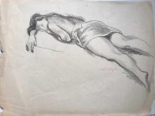Moses Soyer Sketches