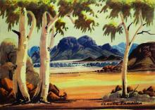 """CLAUDE PANNKA """"Opposite Mount Gillen"""""""
