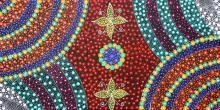 "ANNA TILMOUTH NAPANGARDI ""Wild Flower Seeds"""