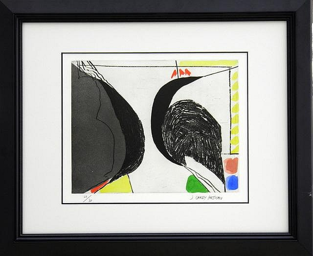 ARTIGAS GARDY (SPANISH), Original Limited Edition Hand Signed Etching with Aquatint