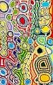 JUDY WATSON, Title: Mina Mina, Medium: Original Acrylic on Linen, Judy Napangardi Watson, Click for value