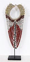 Asmat tribal neck piece