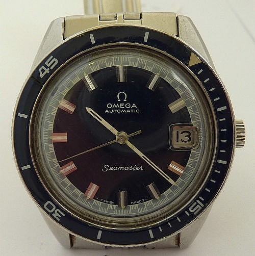 A gentleman's 1970's stainless steel Omega