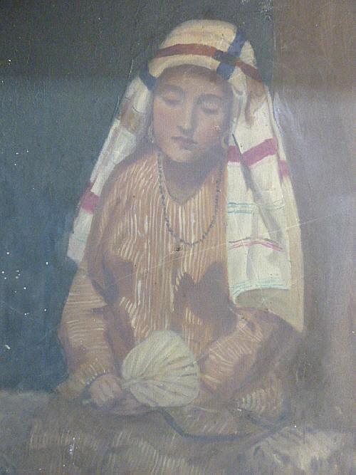 19th Century English School, portrait of an