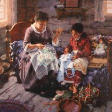 The Sewing Lesson by Michael Dudash