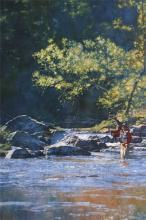 Fishing Mad River by Michael Dudash