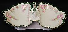 Habsburg Austria serving platter with handle