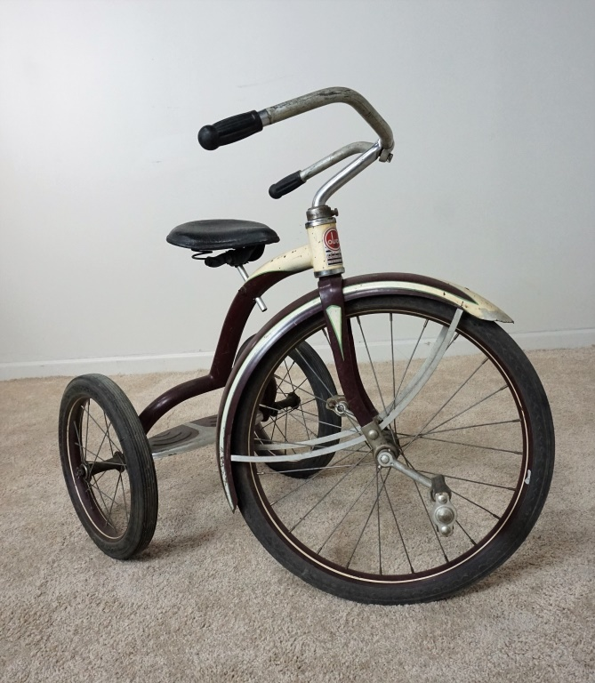 Antique Airplane Tricycle : Vintage colson tricycle