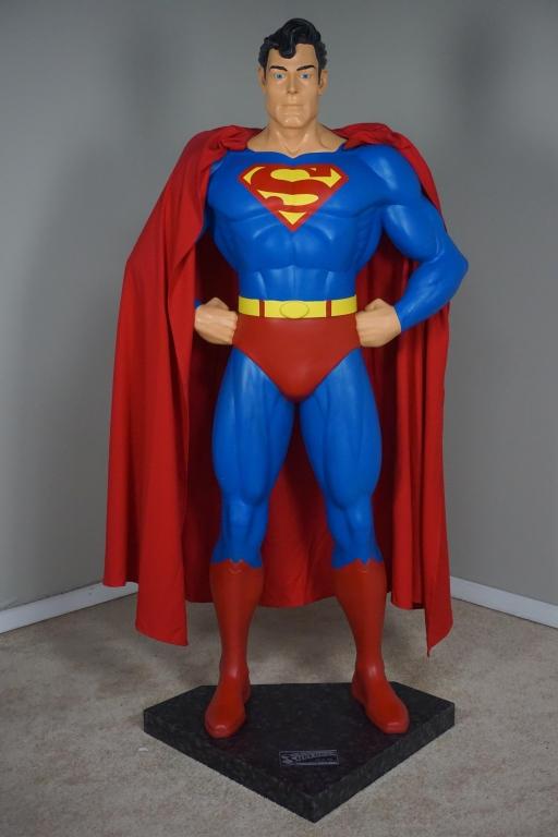SUPERMAN LIFE SIZE 1:1 RUBIE'S COSTUMES REPLICA