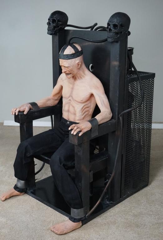 DISTORTIONS UNLIMITED ELECTRIC CHAIR ANIMATRONIC