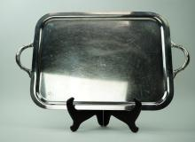 US NAVY SILVERPLATE MESS TRAY