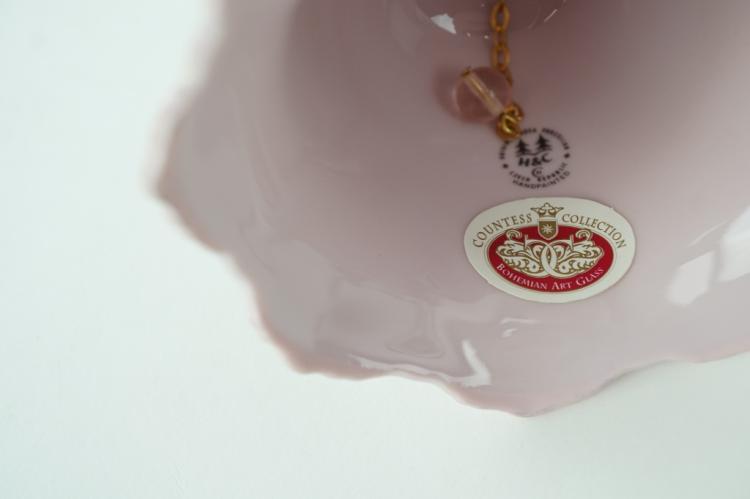 3pcs original rosa porzellan h c fine bone china. Black Bedroom Furniture Sets. Home Design Ideas