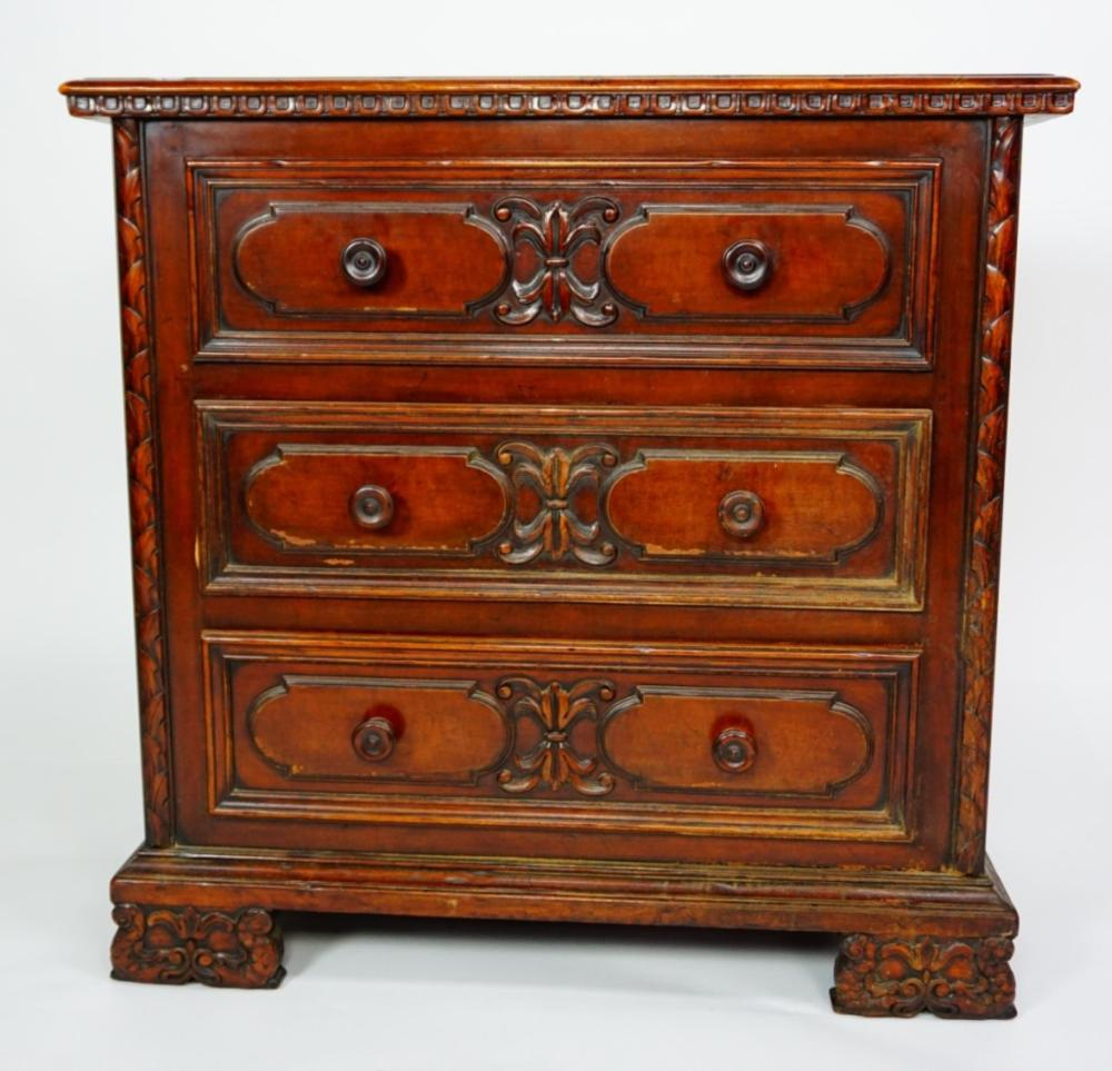 - ANTIQUE ROBERT IRWIN LOW CHEST