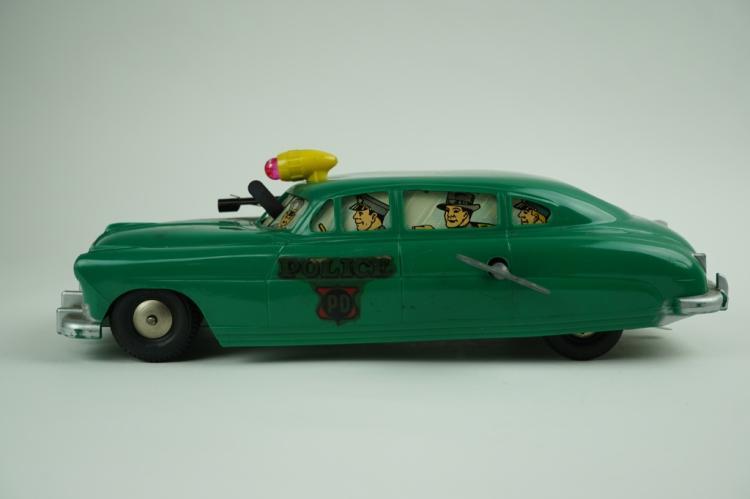 VINTAGE MARX WIND-UP POLICE CAR