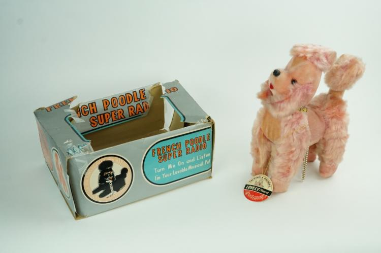 VINTAGE ROSS SUPER 6TR FRENCH POODLE RADIO