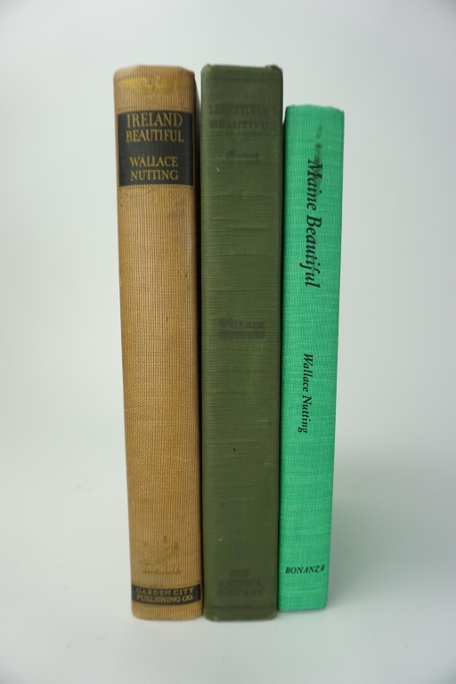 (3) WALLACE NUTTING (AMERICAN, 1861-1941) BOOKS