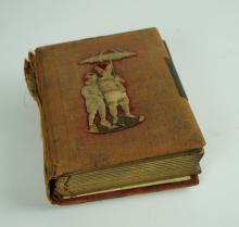 ANTIQUE TINTYPE AND CABINET CARD ALBUM