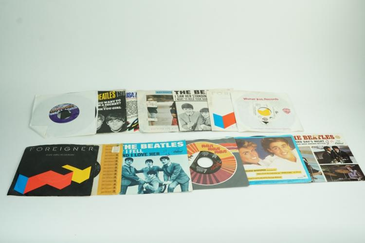 (13) ASSORTED VINTAGE 45RPM RECORDS
