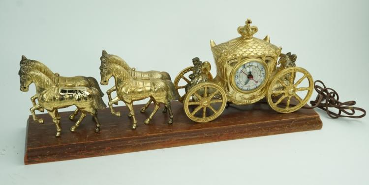 VINTAGE ELECTRIC CARRIAGE CLOCK