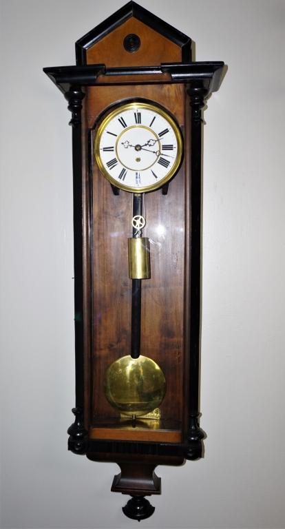 ANTIQUE 1830'S VIENNA REGULATOR CLOCK