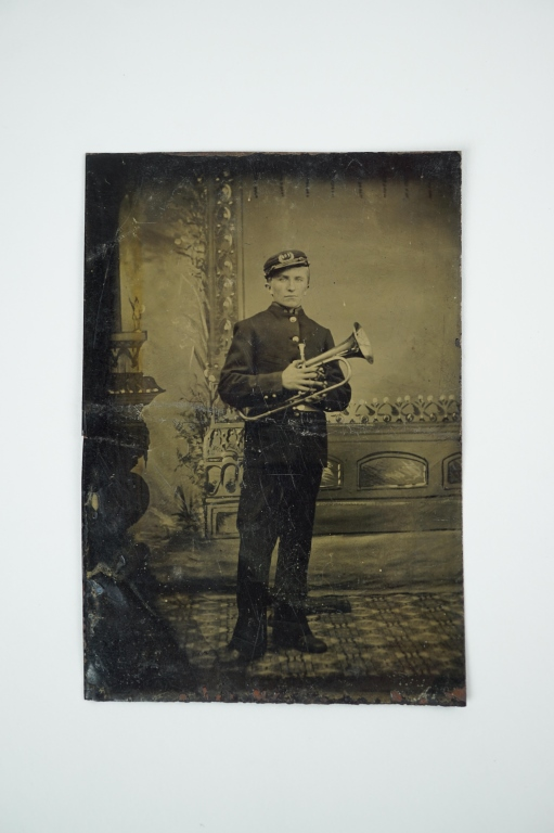 ANTIQUE CIVIL WAR TINTYPE POSSIBLY CONFEDERATE