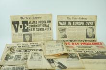 ASSORTED WORLD WAR II EPHEMERA