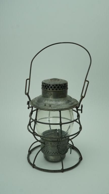 ANTIQUE ADLAKE PENNSYLVANIA LINES RAILROAD LANTERN