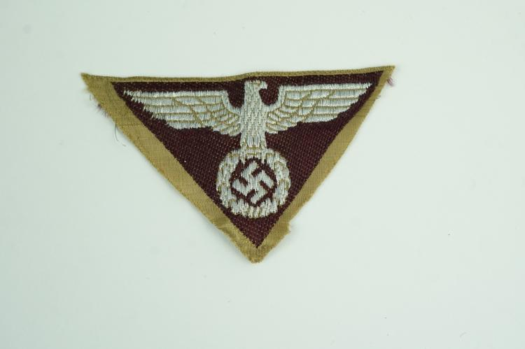 WORLD WAR II GERMAN EAGLE PATCH
