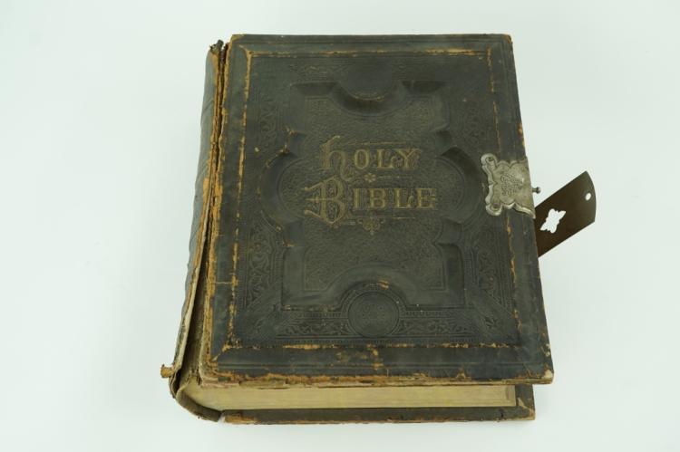 1884 HOLY BIBLE PRONOUNCING EDITION