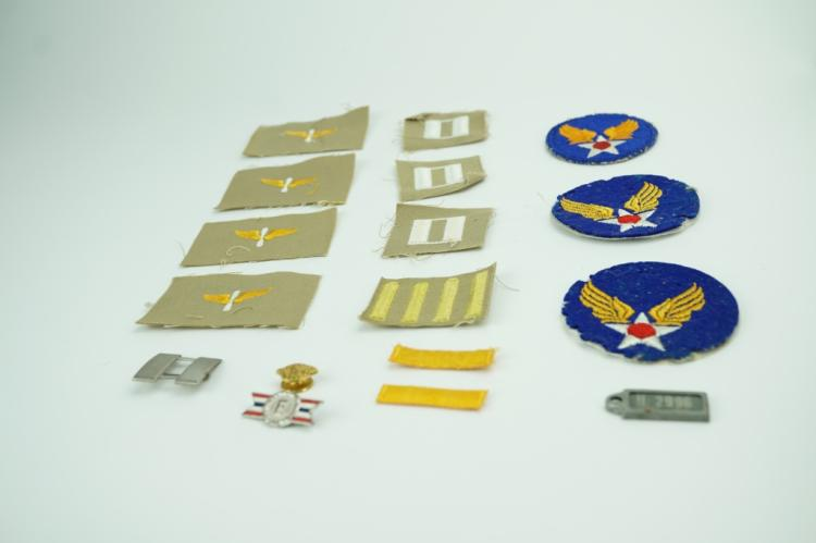 ASSORTED WWII US MILITARIA