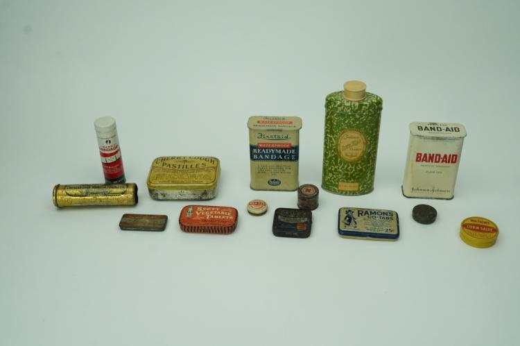(14) ASSORTED ADVERTISING TINS